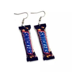 Jewelry - Acrylic Snickers Earrings